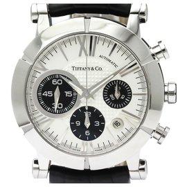 Tiffany & Co-Tiffany Silver Edelstahl Atlas Automatic Z1000.82.12EIN21EIN71EIN-Schwarz,Silber