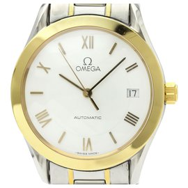 Omega-Omega Silver Edelstahl Classic Automatic 166.0295-Silber,Golden