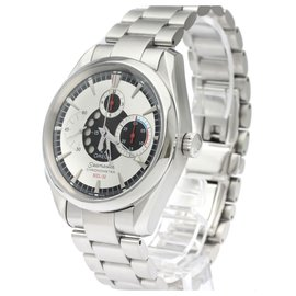 Omega-Omega Silver Stainless Steel Aqua Terra Automatic 2513.30-Silvery,White