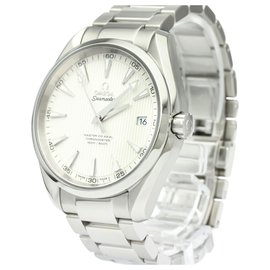 Omega-Omega Silver Stainless Steel Seamaster Automatic 231.10.32.21.02.003-Silvery,White