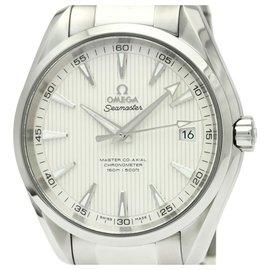 Omega-Omega Silver Edelstahl Seamaster Automatic 231.10.32.21.02.003-Silber,Weiß