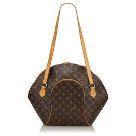 Louis Vuitton-Louis Vuitton Brown Monogram Ellipse Shopper-Brown