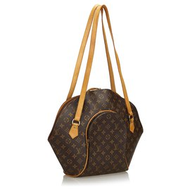 Louis Vuitton-Louis Vuitton Shopper Ellipse Monogram Marron-Marron