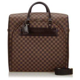 Louis Vuitton-Louis Vuitton Brown Damier Ebene Nolita PM-Brown