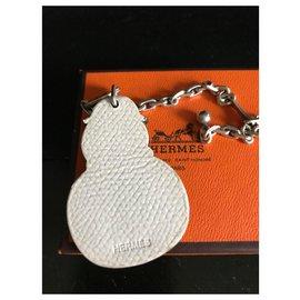 Hermès-SCHNEEMANN-CHARME MIT WIRKLICHEM 925% Silberkette-Mehrfarben