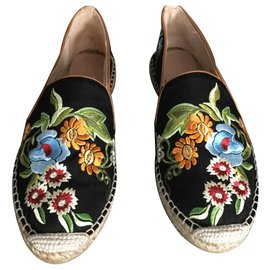 Etro-ETRO EMBROIDERED ESPADRILLES NEVER WORN-Multiple colors
