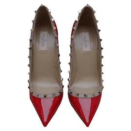 Valentino-Valentino Pumps  40-Red