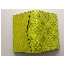 Louis Vuitton-Louis Vuitton taigarama wallet new-Yellow