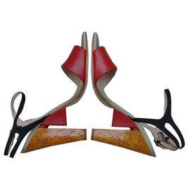 Fendi-Sandalen-Mehrfarben