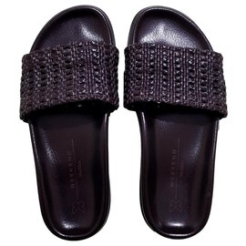 Weekend Max Mara-Sandals-Brown