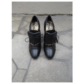 Lanvin-Bottines-Noir