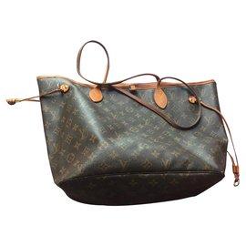 Louis Vuitton-Neverfull-Brown
