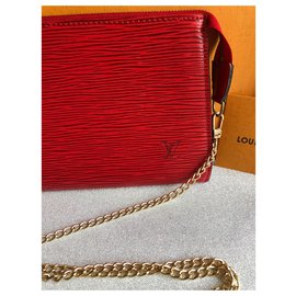 Louis Vuitton-Handbags-Red