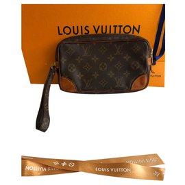 Louis Vuitton-Clutch bags-Brown