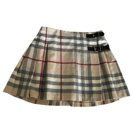 Burberry-Girl skirt-Beige