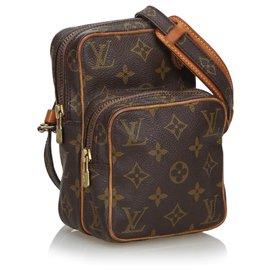 Louis Vuitton-Louis Vuitton Brown Monogram Mini Amazone-Brown