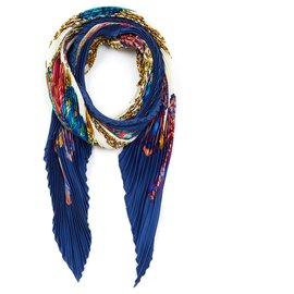 Hermès-Die Bänder des Pferdes-Blau