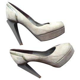 Versace-Versace Schuhe-Grau