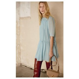 Chloé-Robes-Turquoise