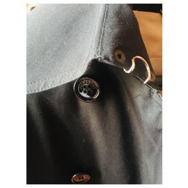 Burberry Prorsum-black Burberry trench-Black