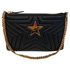 Stella Mc Cartney-Pochette Stella Star noire-Noir