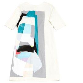 Lela Rose-OFF WHITE FR38/40-Cream