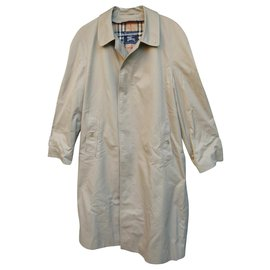 Burberry-imperméable Burberry vintage t 48-Beige