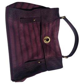 Yves Saint Laurent-Muse II Yves Saint Laurent bag-Prune