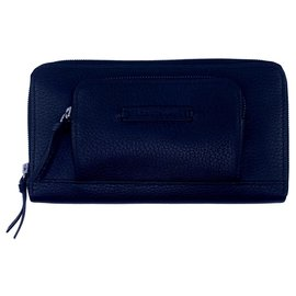 Longchamp-Wallet Madeleine-Black