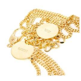 Gucci-GOLDEN GG INTERLOCK T80-Golden