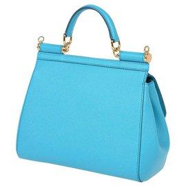 Dolce & Gabbana-Dolce e Gabbana Sicily bag-Blue