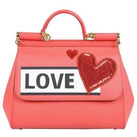 Dolce & Gabbana-Dolce e Gabbana Sicily bag-Red