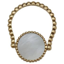 """Dior-Bague Dior """"Rose des Vents"""" en or jaune, nacre et diamant.-Autre"""