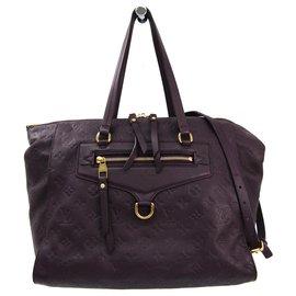 Louis Vuitton-Louis Vuitton Purple Monogram Empreinte Lumineuse PM-Purple