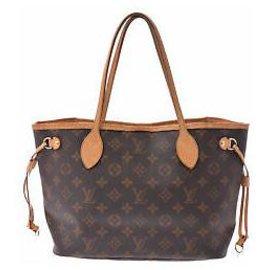 Louis Vuitton-Louis Vuitton Neverfull PM-Brown