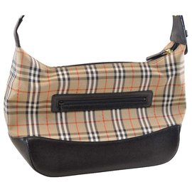 Burberry-Burberry Vintage Clutch Bag-Beige