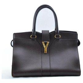 Yves Saint Laurent-Yves Saint Laurent Handbag-Purple