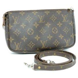 Louis Vuitton-Louis Vuitton Pochette Accessoire-Marron