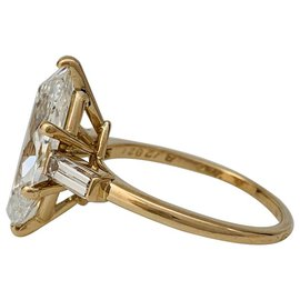 Cartier-Cartier ring in yellow gold, diamond 3,15 carat.-Other