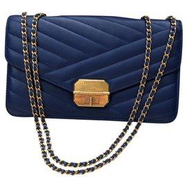 Chanel-classical-Blue,Navy blue,Dark blue