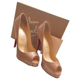 Christian Louboutin-Very privee-Beige