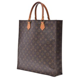 Louis Vuitton-Louis Vuitton Sac plat-Marron