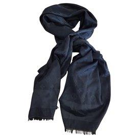 Louis Vuitton-Echarpes-Noir