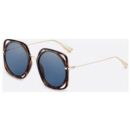 Dior-DIOR NEW DIORDIRECTION GLASSES-Brown,Golden