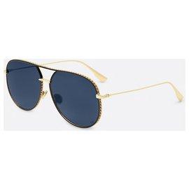 Dior-DIOR OCCHIALI DIORBYDIOR SUNGLASSES OCCHIALI-Black,Golden