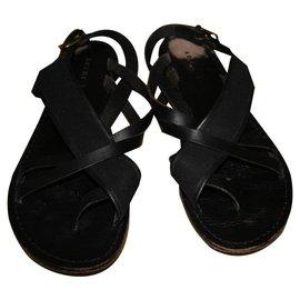 Soeur-Sandales-Noir