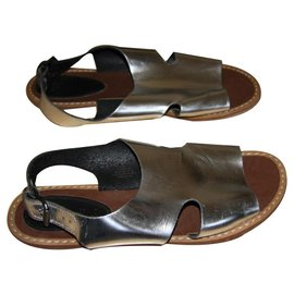 Marni For H&M-Sandals-Silvery