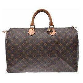 Louis Vuitton-Louis Vuitton Speedy 40-Marron