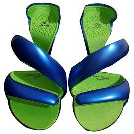 Julian Hakes-Sandals-Blue