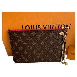 Louis Vuitton-Pochette Neverfull-Marron
